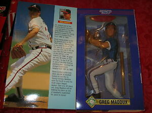 1997 Greg Maddux Atlanta Braves 12in large Starting Lineup action figure BOX HOF