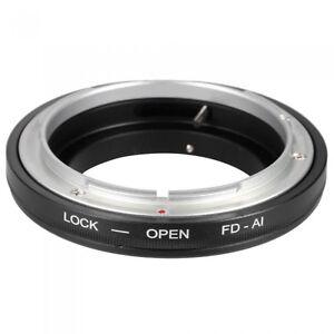 FD-AI-Lens-Ring-Adapter-Canon-FD-lens-To-All-Nikon-AI-Mount-Camera-UK-Seller