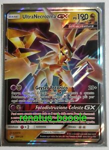 carte pokemon rare gx Pokemon Card Ultra necrozma GX SM 126 Triumph Dragons SEE OTHER