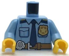LEGO NEW MINIFGURE POLICE COP TORSO WITH TIE BADGE AND POCKETS
