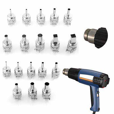 Universal Heat Gun Nozzle Hot Air Gun Heat Resisting Nozzles Tips Tool