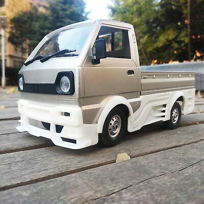 C Truck Silber Andifany f/ür Wpl D12 Offroad Rc Auto Drift Upgrade Kit DIY 1:10 4Wd Buggy R