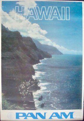 Hard-Working Pfanne Am American Airways Airlines Hawaii 1970 Vintage Reisen Plakat 25x36 Discounts Price Sammeln & Seltenes Luftfahrt & Zeppelin