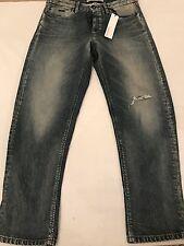 "BNWT Calvin Klein Cropped Jeans Women's Destroyed Boyfriend. Size 30""W x 26""L."