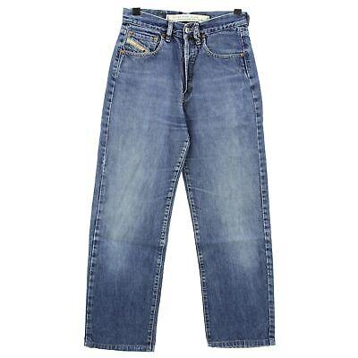 #4109 Diesel Jeans Uomo Pantaloni Cheyenne 750 Denim Blue Stone Blu 29/30-