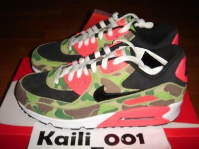 Nike Air Max 90 Premium Size 7.5 Atmos Duck Camo Tiger Japan