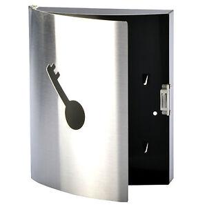 Cassetta per le chiavi metallo portachiavi da parete scatola deposito ebay - Portachiavi da parete ...