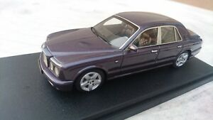 """bentley arnage 2004 - France - État : Occasion : Objet ayant été utilisé. Consulter la description du vendeur pour avoir plus de détails sur les éventuelles imperfections. Commentaires du vendeur : """"Bentley arnage 2004 salon de geneve avec boite vitrine tel 0609305489"""