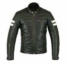 Motorrad Jacke, Retro Jacke, Lederjacke, Vintage, CE, Leather Jacket, S bis 5XL