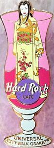 Hard-Rock-Cafe-UC-OSAKA-2003-HURRICANE-GLASS-Series-PIN-Kimono-Lady-HRC-18944