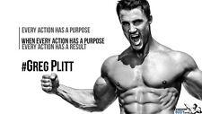 """047 Greg Plitt - American Fitness Model Actor 43""""x24"""" Poster"""