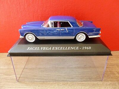 FACEL VEGA EXCELLENCE 1960 Bleu ALTAYA 1:43