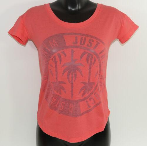 XS-M Neu Gr G-Star Blax RT Women Shirt 94064C.2757.4605 Hot Pink Solid