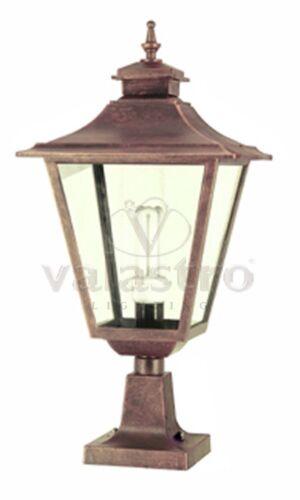 Lanterna da colonna muretto illuminazione da esterno giardino Valastro