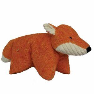 "Hugglehounds SQUOOSHIE FOX Squeaker Dog Toy 19"""