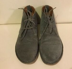 Guess Gmalexi Grey Suede Chukka Boots