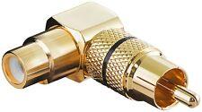 Goobay 2 ST. Audio-Adapter Cinch-Buchse > Cinch-Stecker