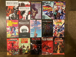 Graphic-Novel-Lot-Image-Comics-DC-Vol-1-TPB-HC-The-Boys-Black-Hammer-Moonshine