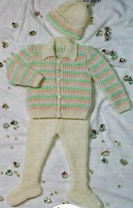 bf7cd3d4f4a Image is loading 479-Baby-Girl-Boy-DK-Cardigan-Leggings-amp-