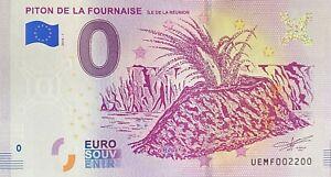 BILLET-0-EURO-PITON-DE-LA-FOURNAISE-ILE-DE-LA-REUNION-2018-NUMERO-2200