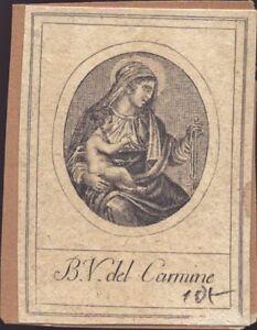 Holy-Carmine-Karmeliten-Orden-Icon-Devotional-Picture-Miraculous-Image-O-9791