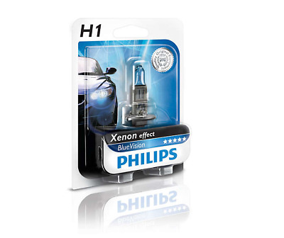 Philips H1 12258BV+B1 Xenon Effect Blue Vision 12V 55W (1 Pack)