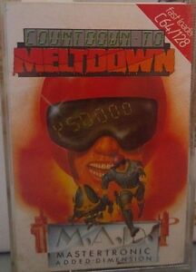 Countdown to Meltdown C 64 Cassette (Tape) (Game, Manual, Verpackung) - Bruchsal, Deutschland - Countdown to Meltdown C 64 Cassette (Tape) (Game, Manual, Verpackung) - Bruchsal, Deutschland