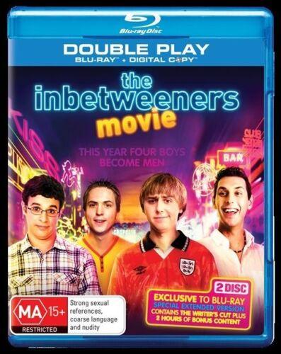 1 of 1 - The Inbetweeners Movie (Blu-ray, 2012, 2-Disc Set) *NEW & SEALED*