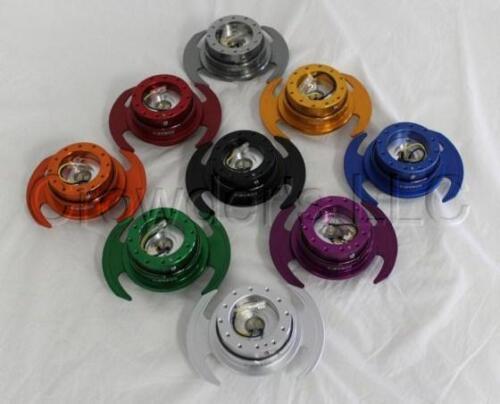 NRG Quick Release Steering Wheel Hub Kit Silver Gen 3