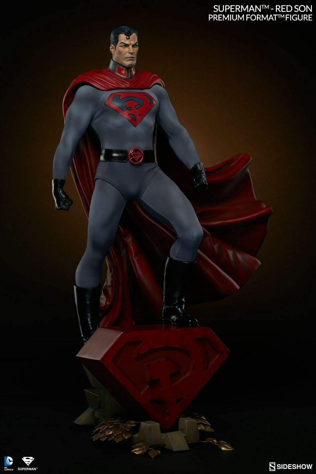 1/4 Scale Premium Format Superman rosso Son By Sideshow Collectibles