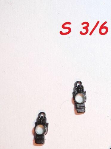 NEU 2x Trix Minitrix LATERNEN E315527 ?? für Dampflok BR S 3//6  Spur N