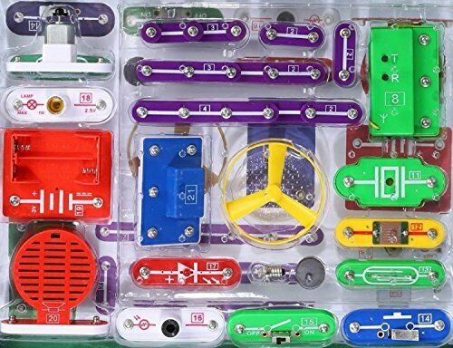 EZLink 335 DIY Circuit Experiments,Science Kits,Electronic Discovery Kit Toy for