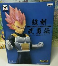"Dragonball Super Movie ~ 9/"" SUPER SAIYAN GOD VEGETA CHOKOKU BUYUDEN STATUE"