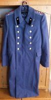 Russian Soviet Coat Army officer Military Uniform Winter Overcoat Wool USSR