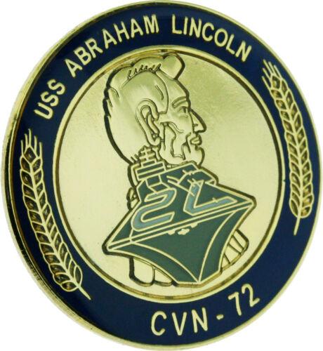 USS Abraham Lincoln Lapel Pin