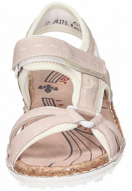 Rieker Sandalen Outdoor Sandaletten Damenschuhe rosa 65479 QNVGm
