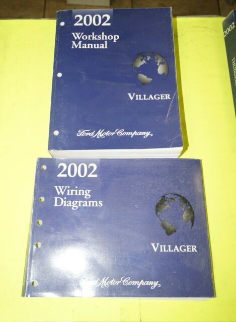2002 Mercury Villager Factory Service Shop Manual   Wiring