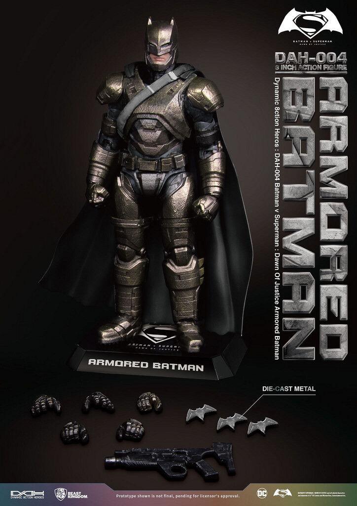 BEAST KINGDOM BATMAN V SUPERMAN DAH-004 DYNAMIC 8CTION HEROES ARMOROT 1/9 FIGURE