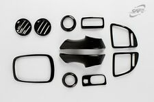 For Kia Sportage 2005 - 2010 Carbon Interior Styling Trim Set - LEFT HAND DRIVE