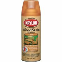 (6 Pack) Krylon Exterior Semi-transparent Spray Stain - Cedar Color - 6pk