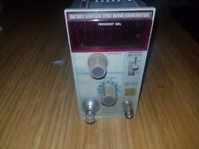 Tektronix Sg503 Leveled Sine Wave Generator Plug In For Tm500 Tm5000 New Style