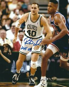 "Signed  8x10 DINO RADJA ""HOF 18"" Boston Celtics Autographed Photo w/COA"