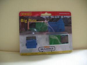 """Hornby Skaledale R8755 Big Bins """"00"""" Scale"""