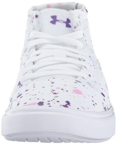 Pick SZ//Color. Under Armour Girls Grade School KickIt2 Splatter Mid Sneaker