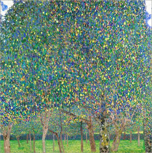Acrylglasbild Birnenbaum - Gustav Klimt