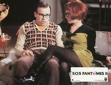 ANNIE POTTS RICK MORANIS GHOSBUSTERS II 1989 VINTAGE PHOTO LOBBY CARD N°2