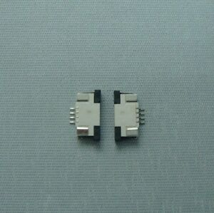 5pcs-FFC-FPC-connector-flat-connector-0-5mm-1-0mm-pitch-top-bottom-contact