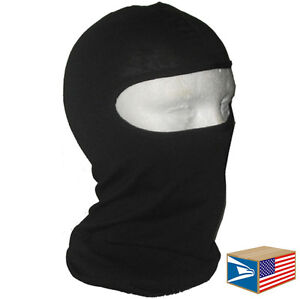 BALACLAVA Black FACE MASK HUNTING CAP TACTICAL MILITARY NINJA HAT LOT 1/3/6/12