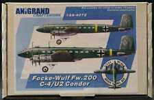 Anigrand 1/144 FOCKE WULF Fw-200 C-4 U-2 CONDOR German Bomber