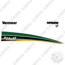 Vermeer D24x40 Series 3 Navigator Directional Boring Horizontal Drill Decal Kit